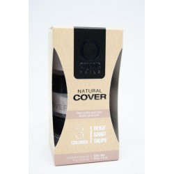 KIT NATURAL COVER ORGANIC NAILS